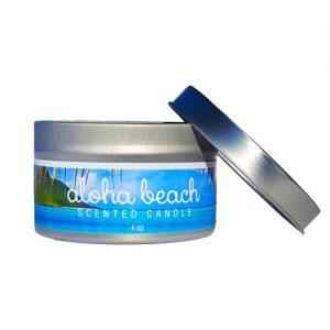 Aloha-Beach Travel Tin Candle