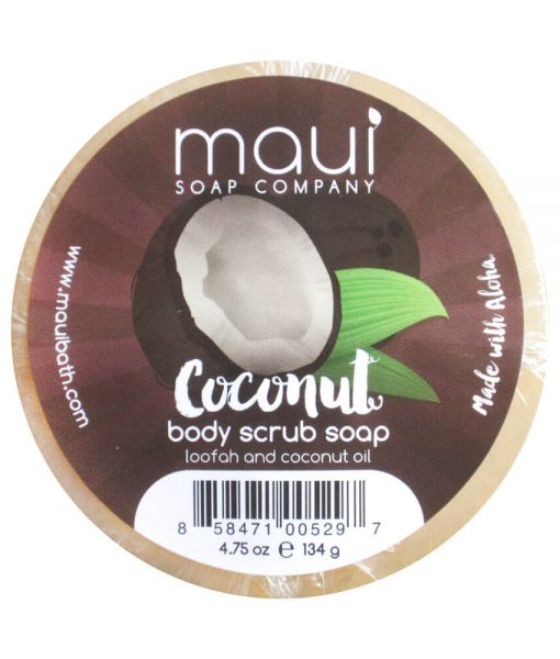 Coconut-Soap - Exfoliating cleanser - Hawaiian Soap from Maui Soap Company