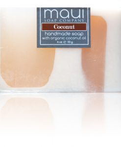 Coconut Hawaiian Organic Coconut Oil Soap - Maui Soap Company