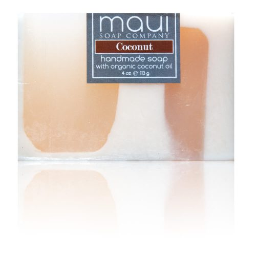Coconut Hawaiian Organic Coconut Oil Soap - Maui Soap Company