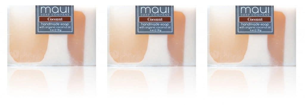 Coconut Soaps - Hawaiian Soap - Maui Soap Company with Coconut