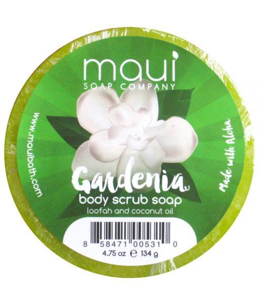 Gardenia-Soap - Exfoliating cleanser - Hawaiian Soap from Maui Soap Company