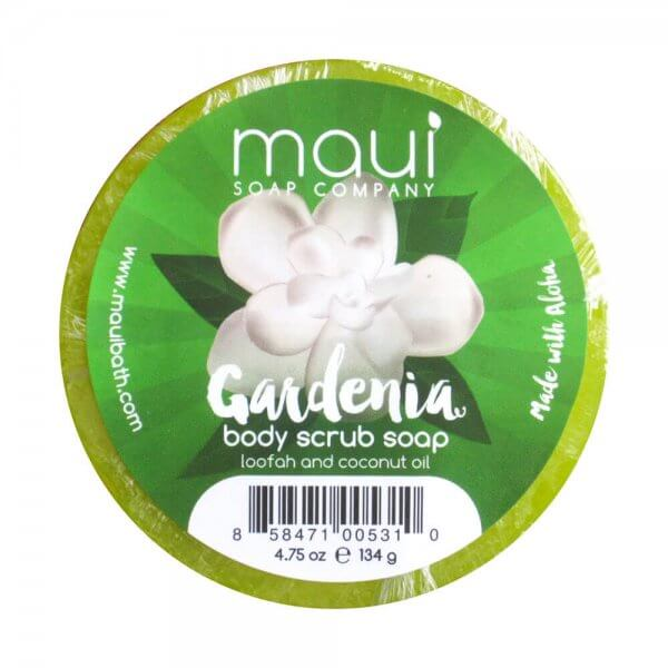 Gardenia-Soap - Exfoliating cleanser - Hawaiian Soap from Maui Soap Company