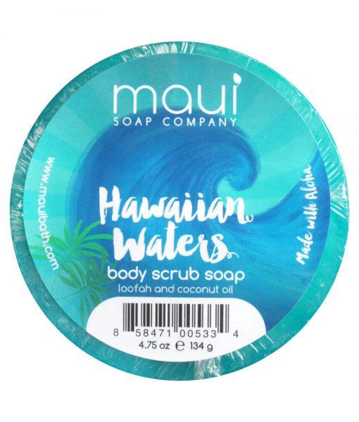 Hawaiian-Waters-Hawaiian-Loofah-Soap