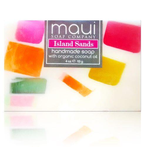 Island-Sands Hawaiian Organic Coconut Oil Soap - Maui Soap Company