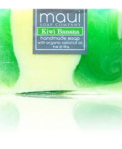 Kiwi-Banana Hawaiian Organic Coconut Oil Soap - Maui Soap Company
