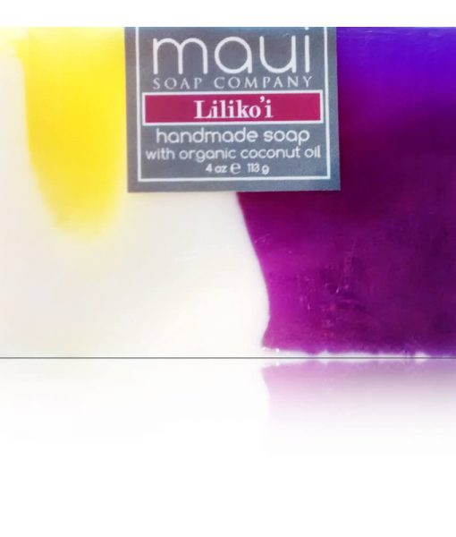 Lilikoi Hawaiian Organic Coconut Oil Soap - Maui Soap Company