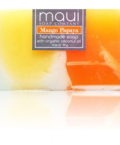 Mango Papaya Hawaiian Organic Coconut Oil Soap - Maui Soap Company