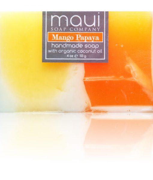 Mango Papaya Hawaiian Organic Coconut Oil Soap - Maui Soap Company