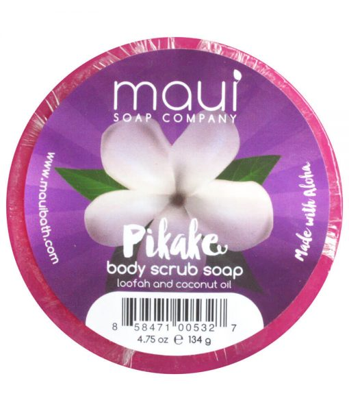 Pikake Soap - Exfoliating cleanser - Hawaiian Soap from Maui Soap Company