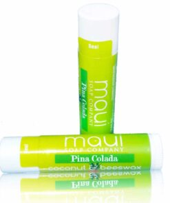 Pina Colada Mango Tropical Hawaiian Lip Balm with SPF15, Coconut & Beeswax, plus Shea Butter