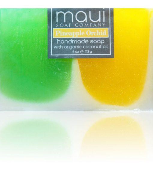 Pineapple-Orchid Hawaiian Organic Coconut Oil Soap – Maui Soap Company