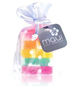Rainbow Soap-Hawaiian Gift Set - Maui Soap Company