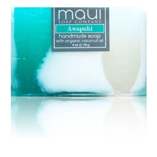 Awapuhi Mango Papaya Hawaiian Organic Coconut Oil Soap - Maui Soap Company