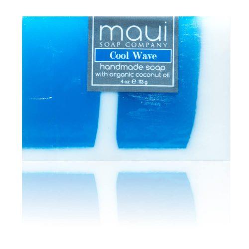 Cool Wave Hawaiian Organic Coconut Oil Soap - Maui Soap Company