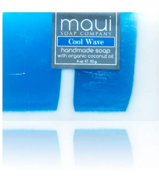 Cool Wave Hawaiian Organic Coconut Oil Soap - Maui Soap Company