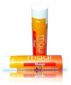 Mango Tropical Hawaiian Lip Balm with SPF15, Coconut & Beeswax, plus Shea Butter