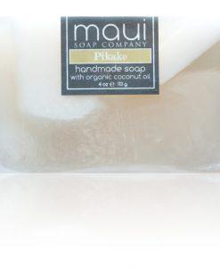 Pikake Hawaiian Organic Coconut Oil Soap - Maui Soap Company