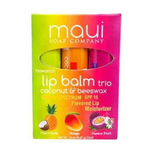 hawaiian lip balm tropical fruit lips moisturizer cocout mango balm tube oz