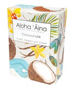 Aloha Aina Coconut Milk Pure Soap