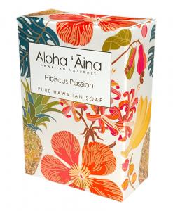 Aloha 'Aina Hibiscus Passion Soap