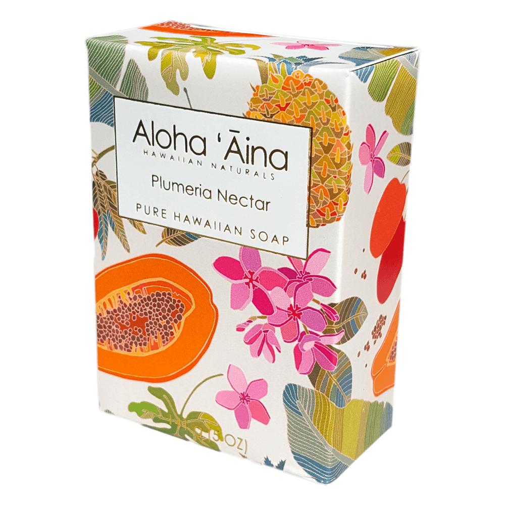 Aloha Aina Plumeria Nectar Pure Soap