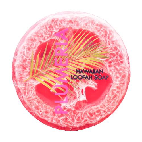 Plumeria-Hawaiian-Loofah-Soap