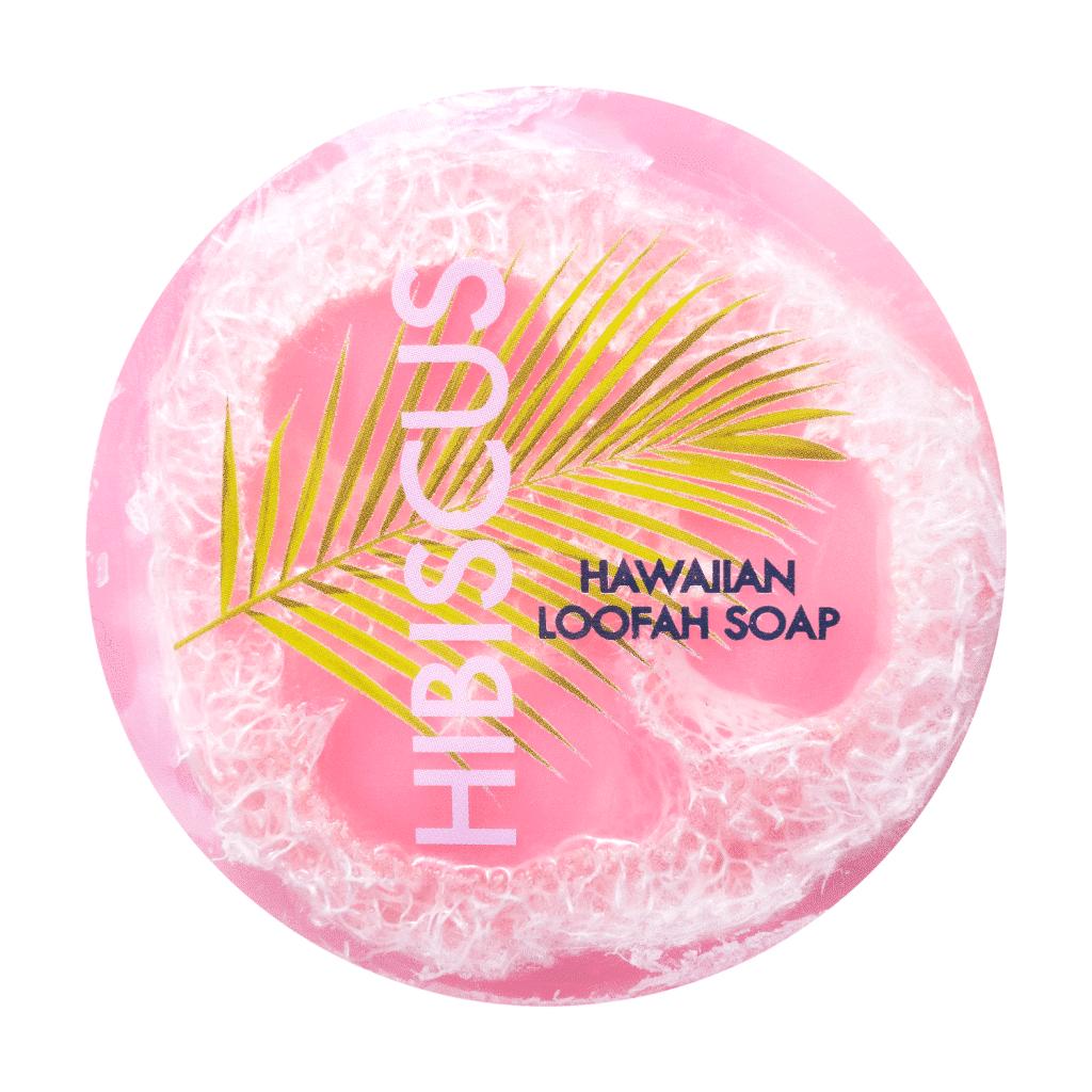 Hibiscus-Loofah-Soap---Maui-Soap-Company