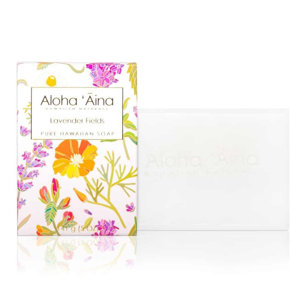 Lavender Fields Pure Soap, Aloha 'Aina