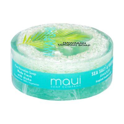 Awapuhi exfoliating loofah soap, 4.75 oz, Maui Soap Company