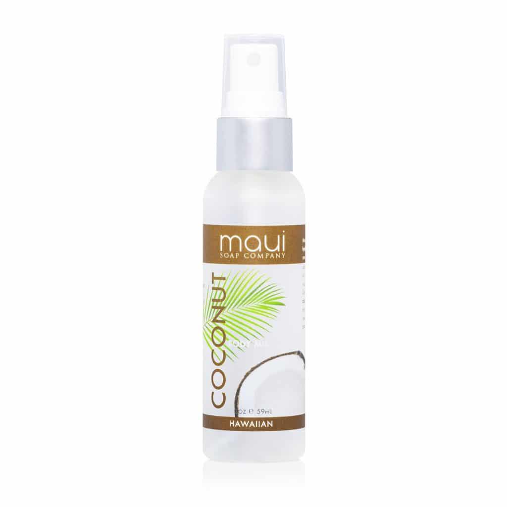 Coconut Body Mist, 2 oz Maui Soap Co.
