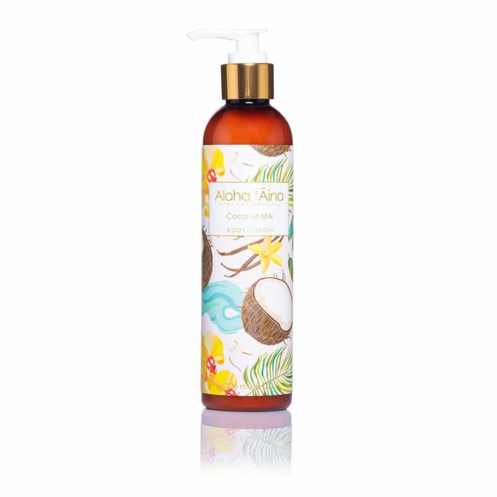 Coconut Milk Aloha 'Aina Hawaiian Body Lotion