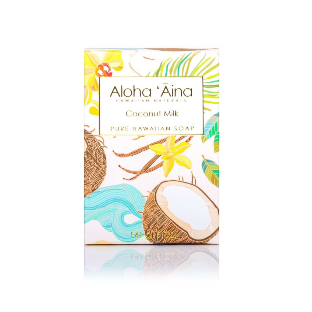Coconut Milk Pure Soap, Aloha 'Aina