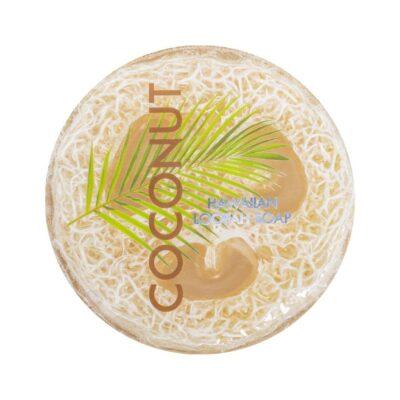 Coconut exfoliating loofah soap, 4.75 oz, Maui Soap Company