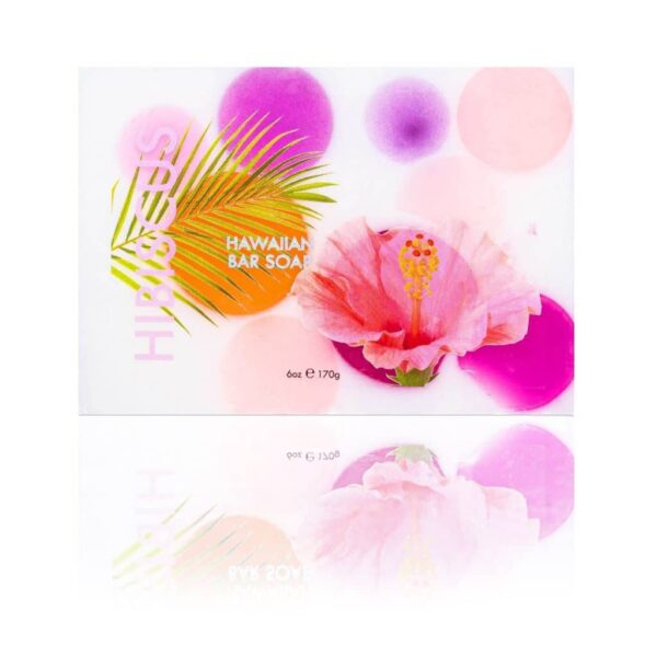 hibiscus front Hawaii Soaps with Coconut Maui Soap Company