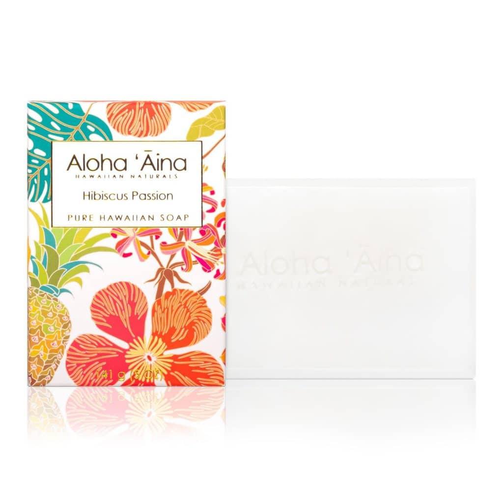 hibiscus passion Pure Soap, Aloha 'Aina
