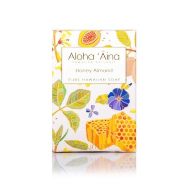 Honey Almond Pure Soap, Aloha 'Aina