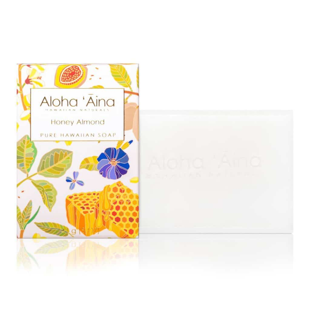 Honey Almond Pure Soap, Aloha 'Aina