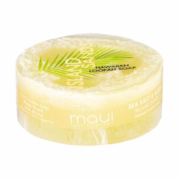 Island Sands exfliating loofah soap, 4.75 oz, Maui Soap Company