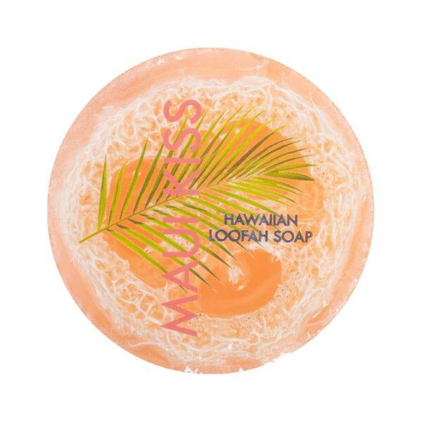 Maui Kiss exfoliating loofah soap, 4.75 oz, Maui Soap Company