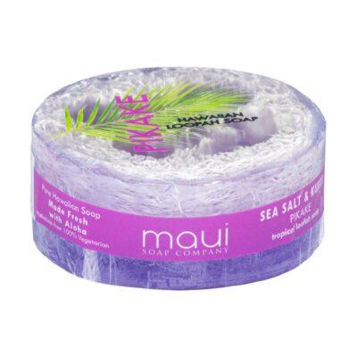 Pikake exfoliating loofah soap, 4.75 oz, Maui Soap Company