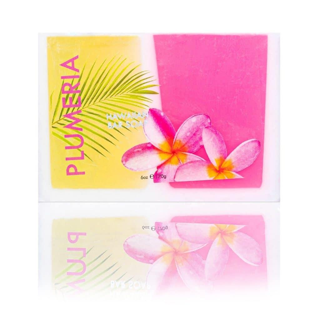 Plumeria Hawaii Soaps with Coconut Maui Soap Company