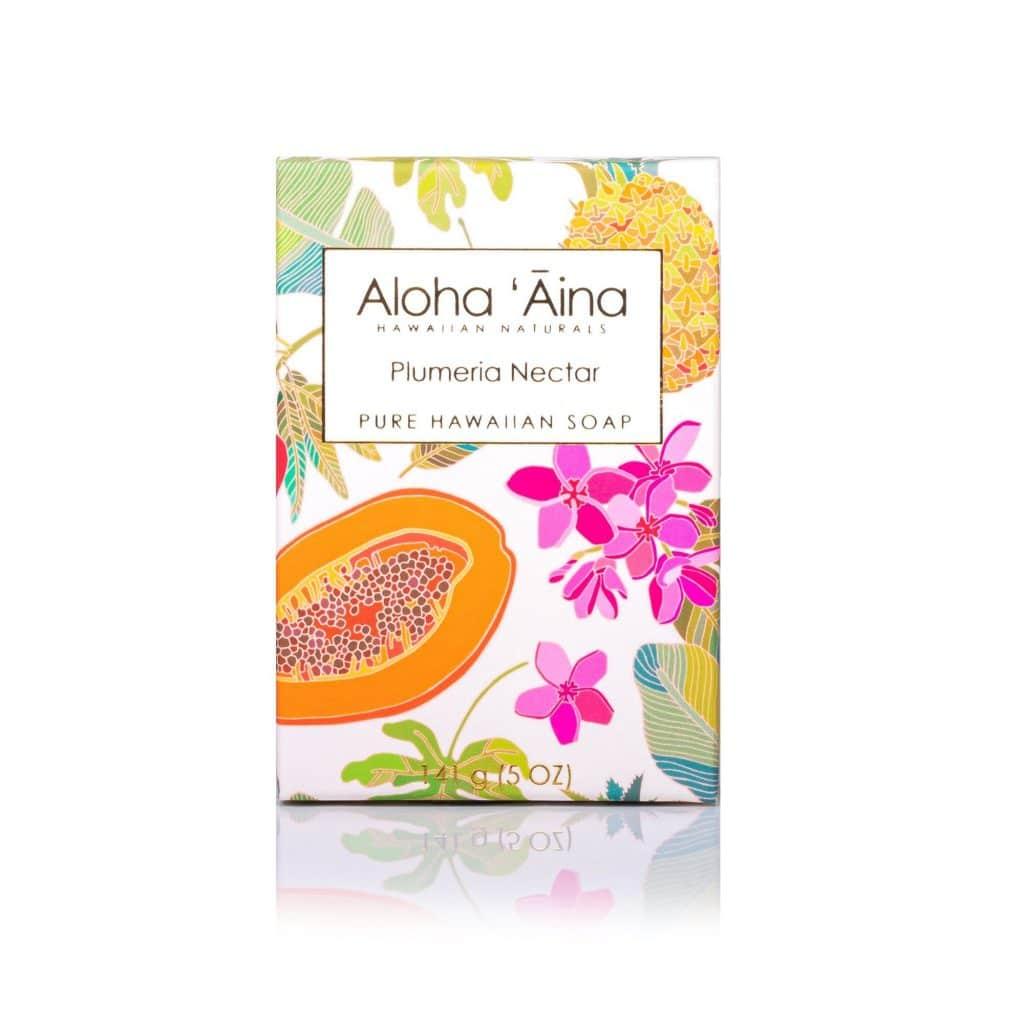 Plumeria Nectar Pure Soap, Aloha 'Aina