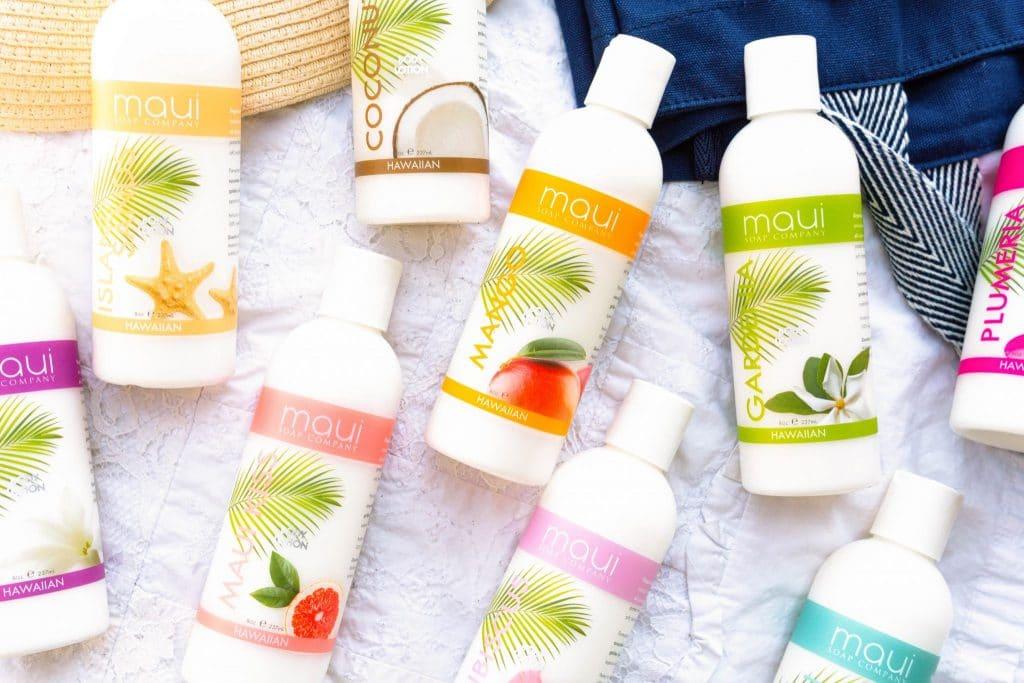 Maui Soap Co Body Lotions