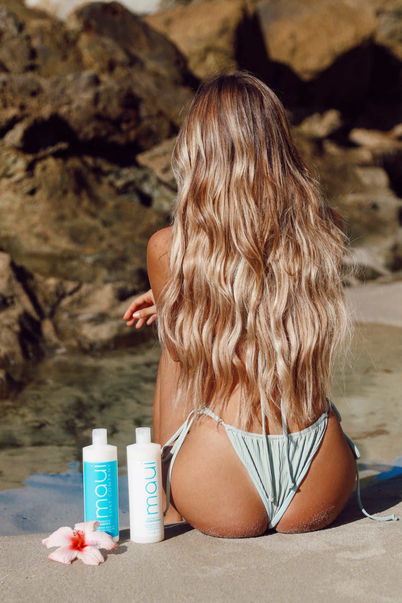 Maui Soap Co Hair Care shampoo and conditioner