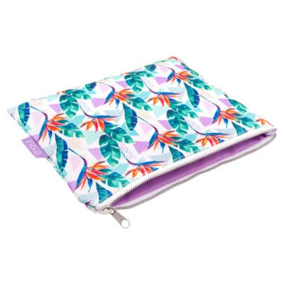 Aloha Hawaiian Pouch Bird inside of Paradise Print