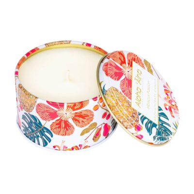 HIBISCUS PASSION LID CANDLE