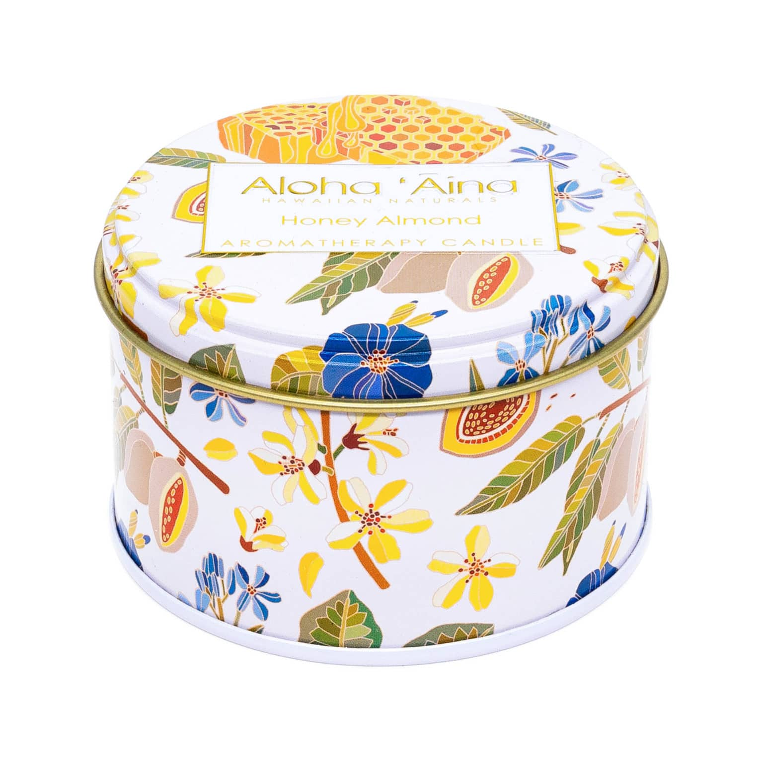 HONEY ALMOND FRONT CANDLE